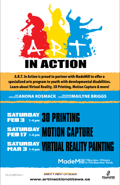 Art in Action poster2-mademill